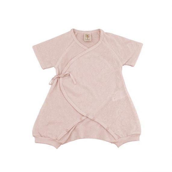 """Tutina rosa per neonato a Kimono """"Coco"""""""