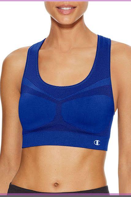 05059040f00 Champion Women s Freedom Seamless Racerback Sport Bra  SportsBras   WomensFashion  underwear