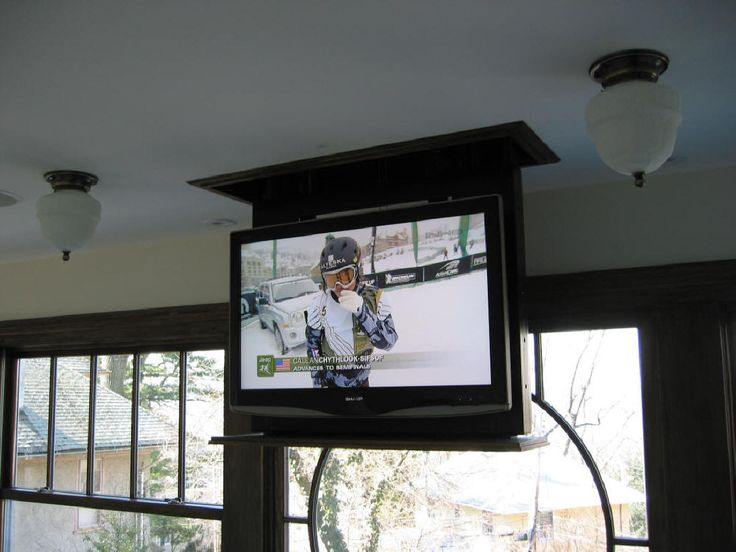 image of tv ceiling mount tall