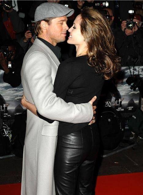Brad Pitt and Angelina Jolie - Beowulf