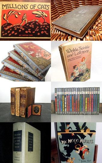 Rare and Beautiful Books--Pinned with TreasuryPin.com