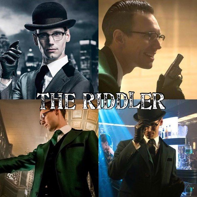 Riddler appreciation post Cory Michael Smith is the grgreatest at Riddler. He is a psycho master mind. He was the best part of season 3. And now hes finale back. ______________________________________________________________________ #dccomics #dctv #riddler #theriddler #riddlemethis #edwardnygma #corymichaelsmith #gotham #gothamcity #gothamfox #brucewayne #batman #darkknight #gothamseason4 #gothamseason3 #gothamseason5 #renewgotham #jeromevaleska #joker #thejoker #harleyquinn #catwoman…