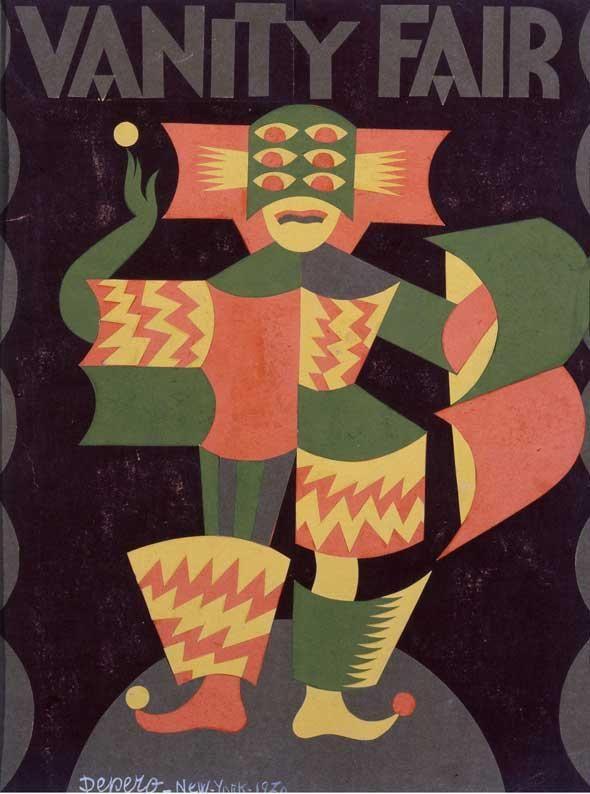 "Bozzetto di copertina per ""Vanity Fair"" 1930 (cat. 81)"
