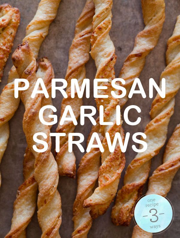 Parmesan Garlic StrawsTasty Recipe, Fun Recipe, Parmesan Garlic, Yummy Food, Garlic Breads, Savory Recipe, Flats Breads Recipe, Favorite Recipe, Garlic Straws