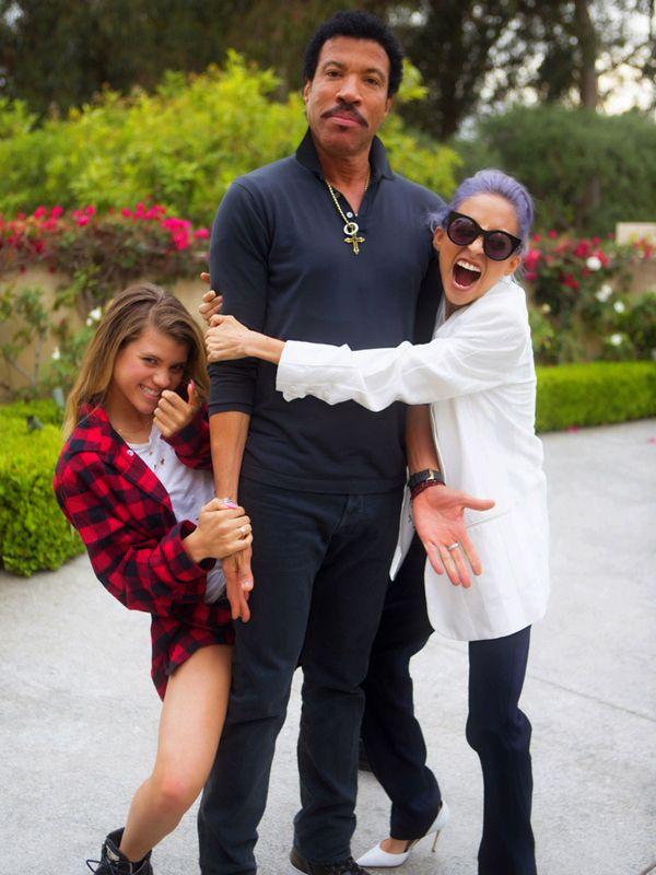 Lionel Richie Daughter Sophia 2015