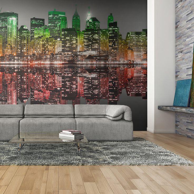 Votre intérieur est à 2 doigts de vous remercier  ---------------------------------------------------------------------  Papier Peint American Reggae  à 122,98€  sur https://www.recollection.fr/papiers-peints-xxl-ville-et-architecture-new-york/8866-papier-peint-american-reggae.html  #New York #mobilier #deco #Artgeist #recollection #decointerior #interiordesign #design #home  ---------------------------------------------------------------------  Mobilier design et décoration intérieure…