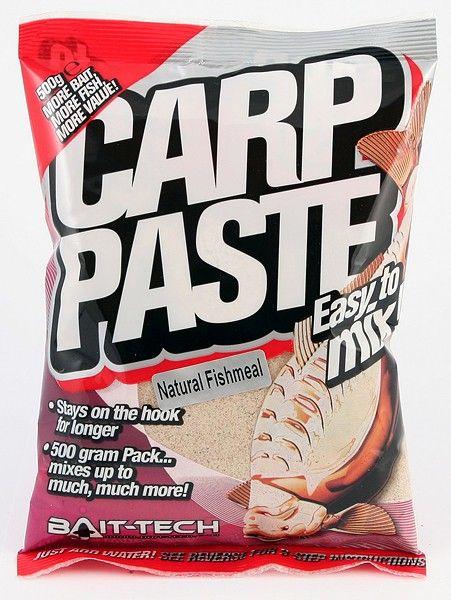 Bait-Tech Carp Paste Natural Fishmeal   500g  cea mai buna pasta de pescuit testata !