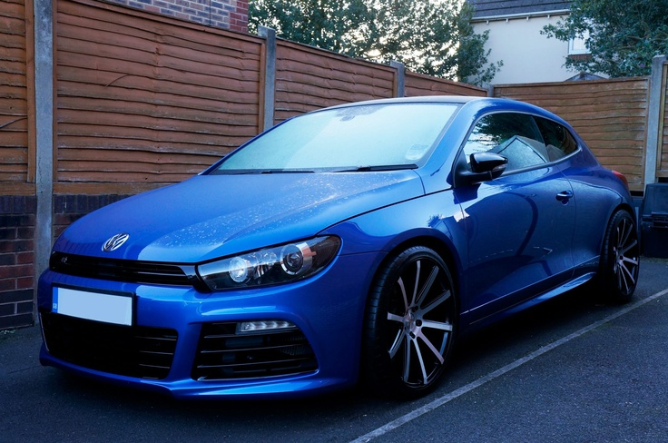 Vw Sirocco with 19 inch Judd T202 http://www.turrifftyres.co.uk