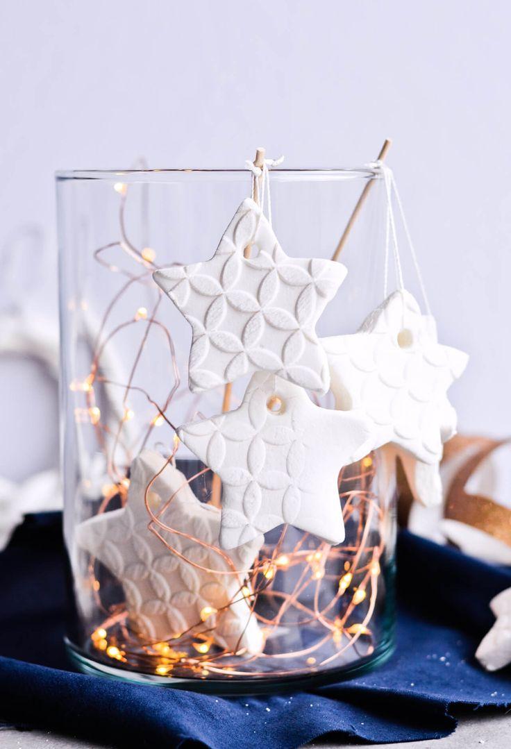 Homemade scented baking soda ornaments | Recipe | Cinnamon ...