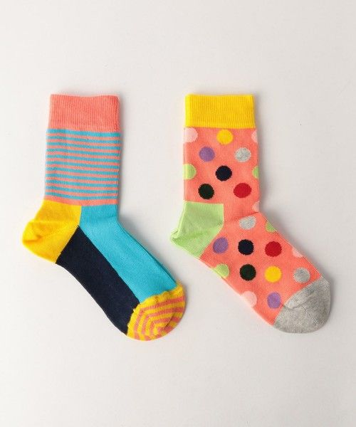 【ZOZOTOWN】Happy Socks(ハッピーソックス)のソックス/靴下「【HAPPY SOCKS(ハッピーソックス)】2P 17SS」(38354990274)を購入できます。