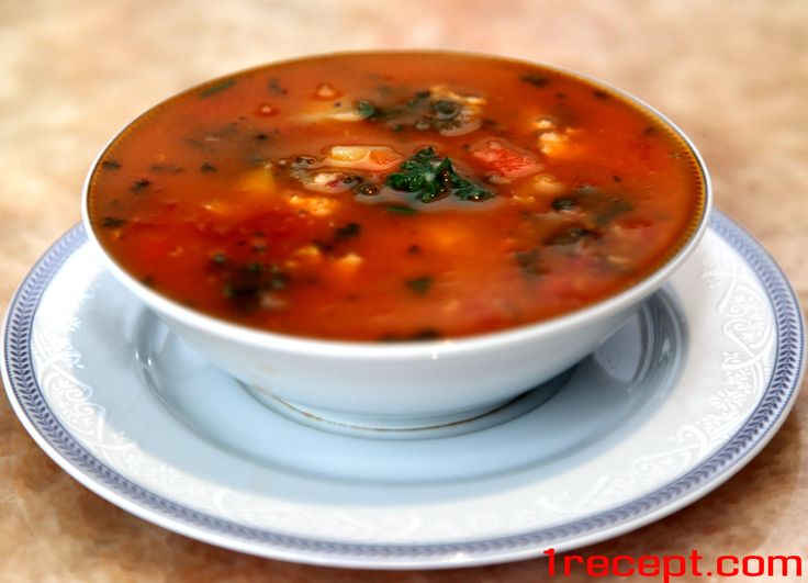 Суп рыбный из консервированной сайры