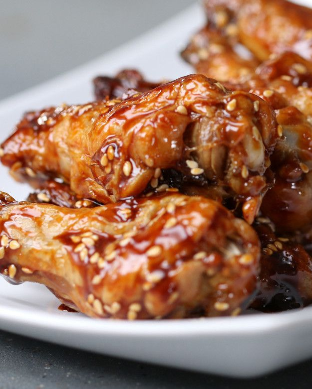 Teriyaki Wings   Bring The Takeout Home With These Four Easy Ways To Make Baked Chicken Wings