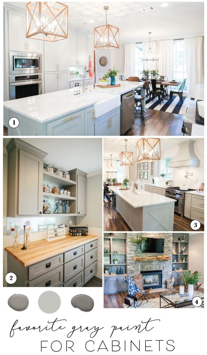 Sharing The Best Paint For Cabinets And Joanna S Favorite Gray Kitchen Cabinet Pa Painted Kitchen Cabinets Colors Best Kitchen Cabinet Paint Best Cabinet Paint Best painted kitchen cabinets