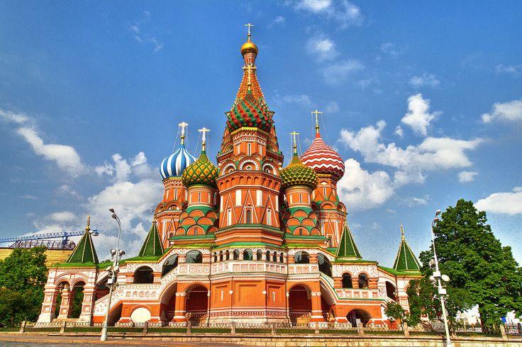 Catedral de San Basilio. Moscú. Rusia