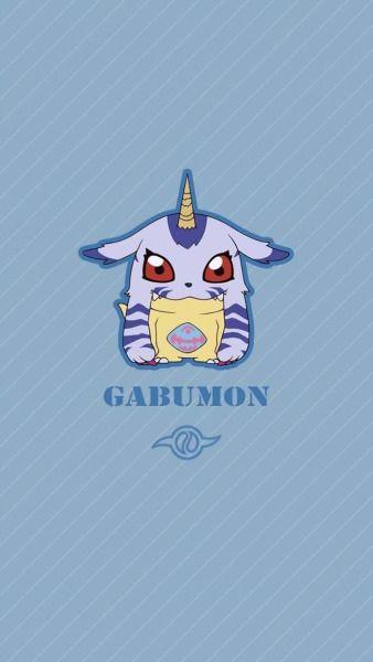 Gabumon chibi. Friendship . Digimon Adventure Tri.