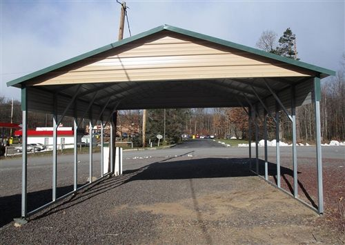 20x21 boxed eave carport north - CT, MA, DE, DC, IN, MD ...