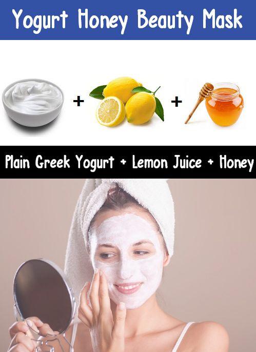 Yogurt Honey Beauty Face Mask: This gentle moisturizer/defoliator is wonderful for removing impurities and nourishing the skin. #skin