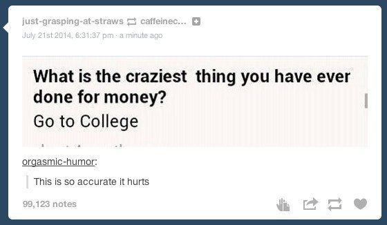 Then law school...