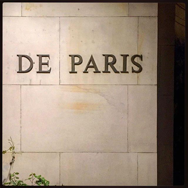 #deparis #typografiawarszawy #typografia #igerswarsaw #igerspoland #de #paris #warszawa #warsaw #typography #warszawa #warsaw #poland #polska #wall #sign