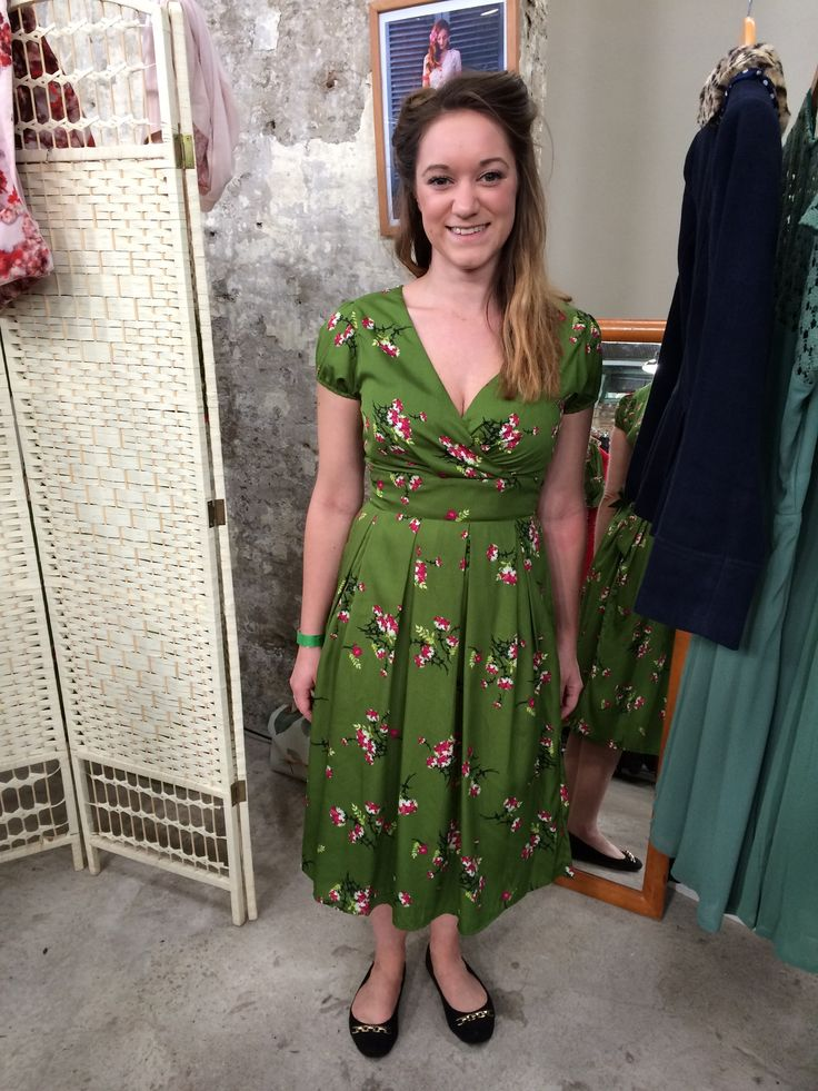 Salute To The 40s Historic Dockyard Daisy Dress
