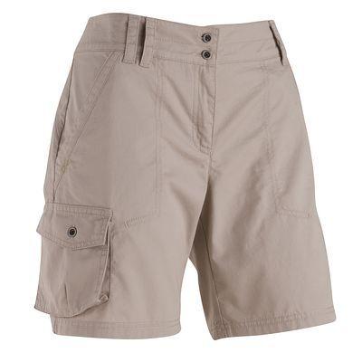 Abbigliamento escursionismo donna Abbigliamento - Pantaloncini escursionismo donna Arpenaz 100 beige QUECHUA - Parte bassa