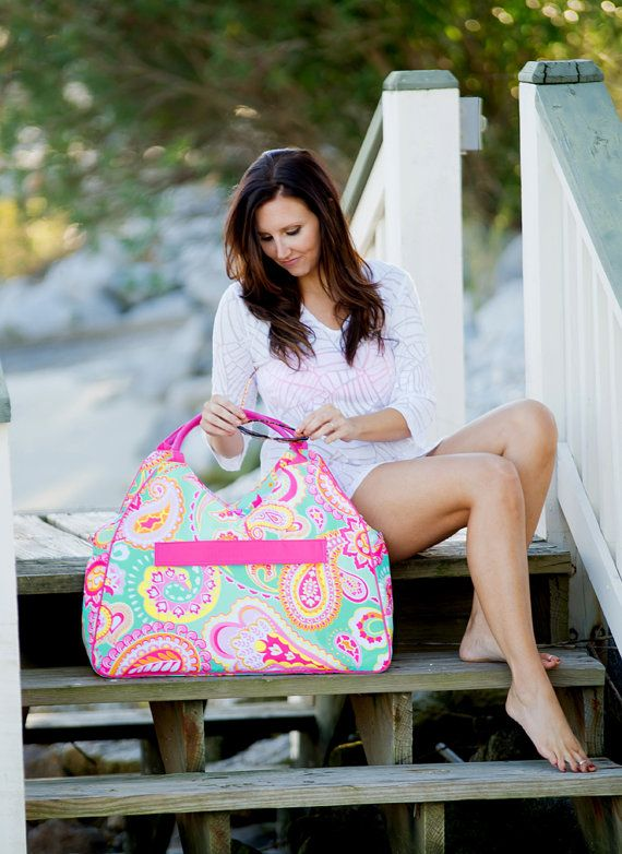 Hey, I found this really awesome Etsy listing at https://www.etsy.com/listing/265178794/monogrammed-beach-bags-personalized