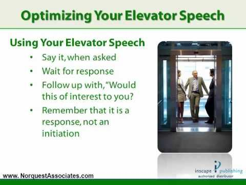 The  Best Images About Elevator Speeches On