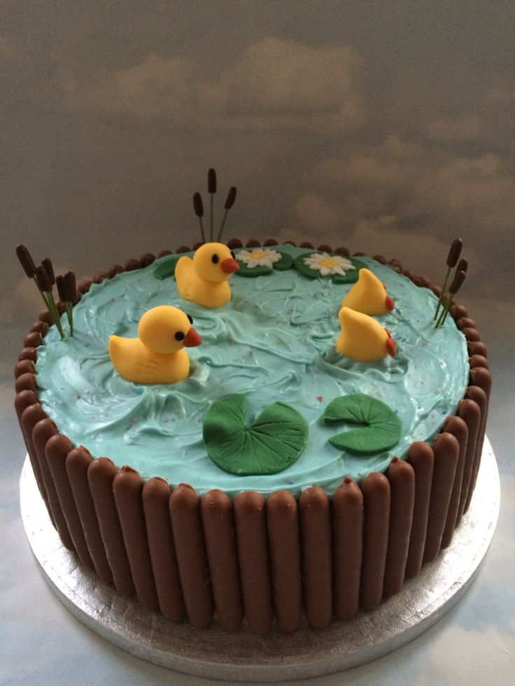 Duck pond cake                                                                                                                                                                                 More