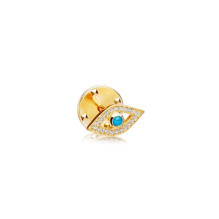 Evil Eye Biography Pin