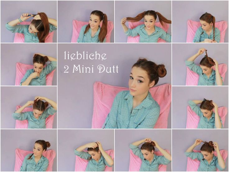 hair tutorial how to do two side buns as micky mouse. Black Bedroom Furniture Sets. Home Design Ideas