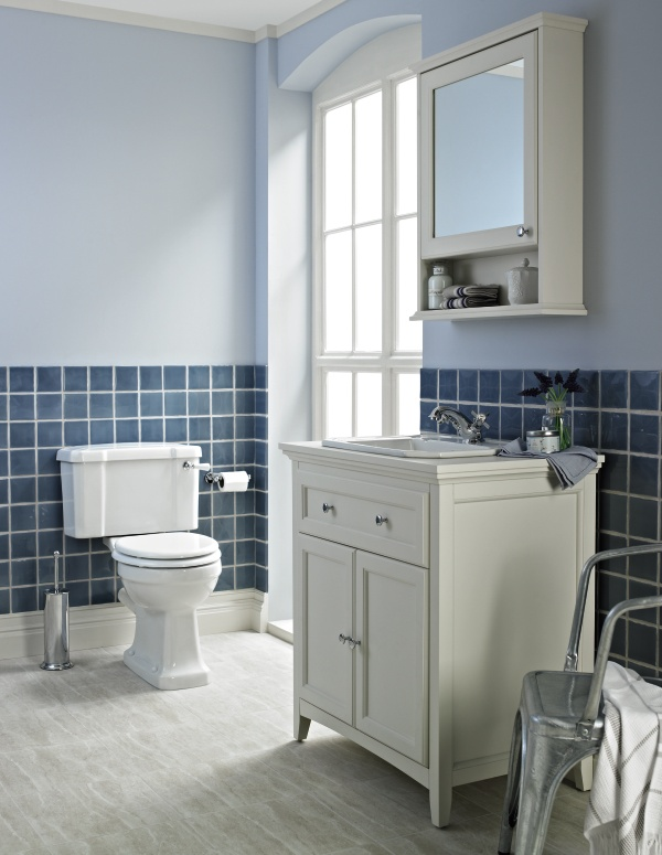 The Savoy Close Coupled WC Is Original Traditionally Styled