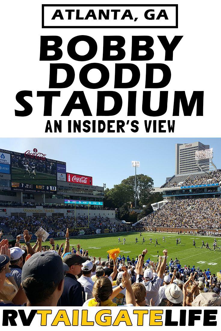 An insiders look at bobby dodd stadium rv tailgate life