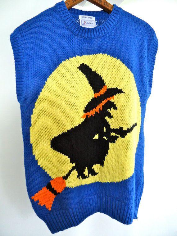 orange halloween sweater