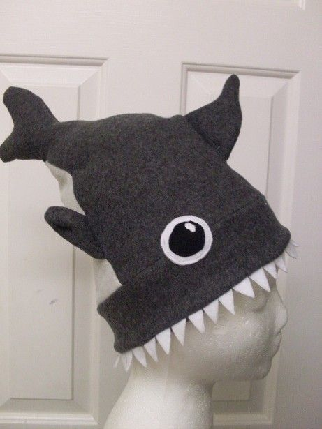 Shark Attack Hat! http://www.instructables.com/id/Shark-Attack-Hat/?ALLSTEPS Hilarious #Shark