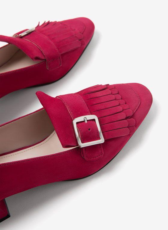 Zapatos tacón medio - Calzado - Uterqüe España