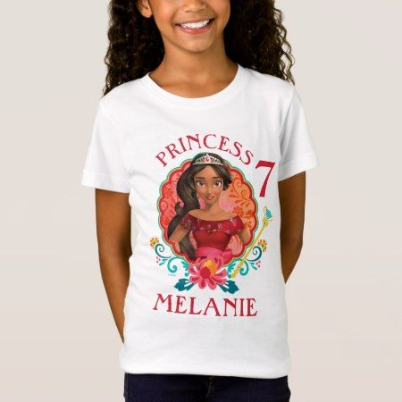 Elena of Avalor | Birthday T-Shirt - click/tap to personalize and buy