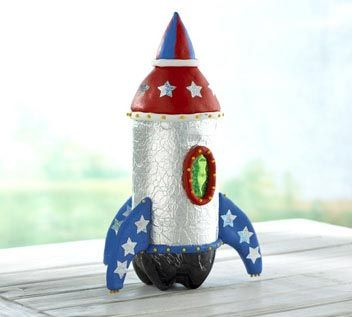 Cute bottle rocket