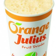 I made this in our Frappe machine & it taste EXACTLY like an Orange Julius!! Delicious! Must try!