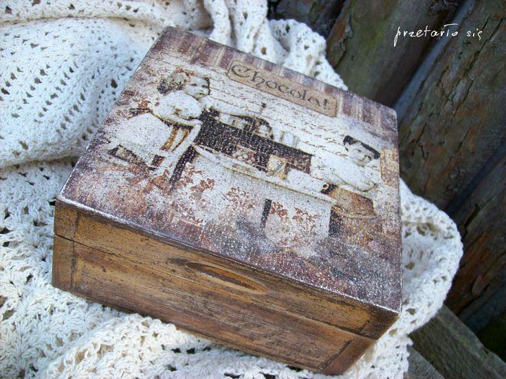 pudełko vintage