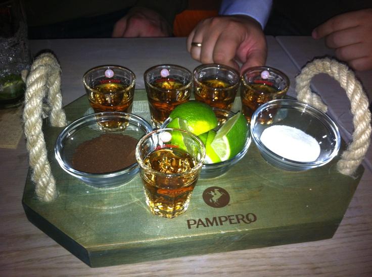 """El Ritual"" Pampero Rum, Lime, coffee, sugar"