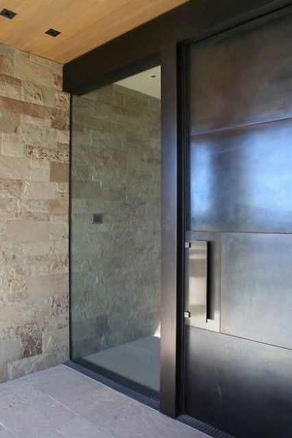 Modern Revisited Split Entry Modern Remodel Exterior: 17 Best Ideas About Glass Front Door On Pinterest