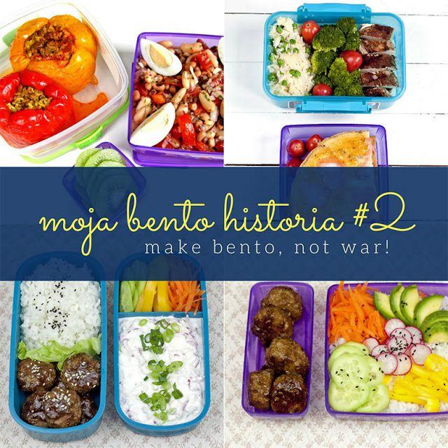 Bento historia Martynosi z bloga Codzienne gotowanie