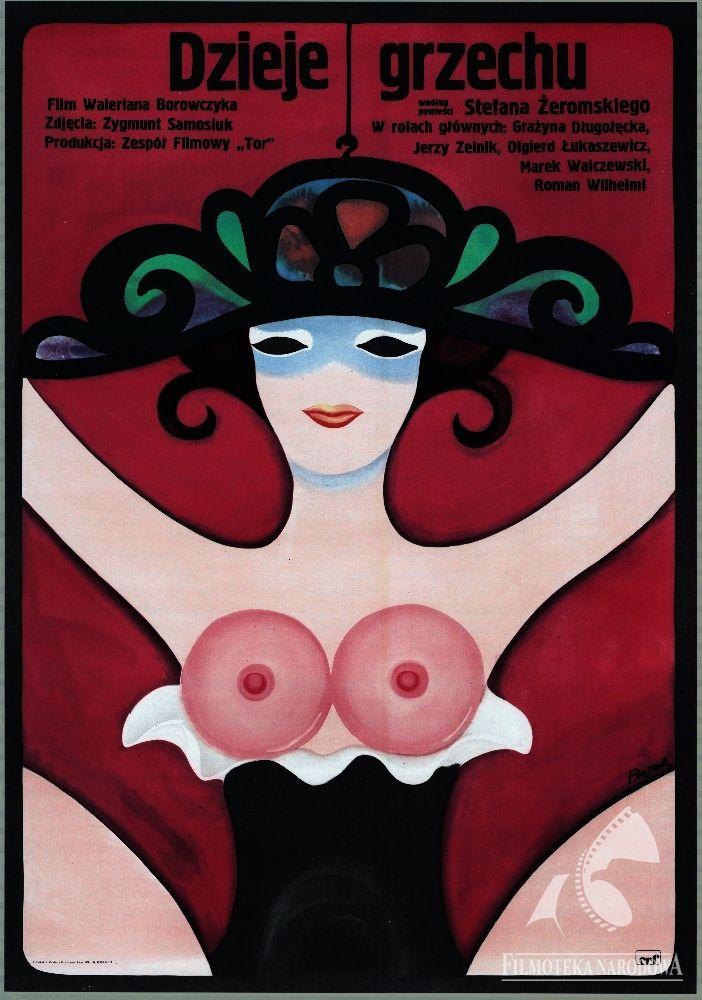 Polish Posters: DZIEJE GRZECHU - Jerzy Flisak (1975) (GAPLA) #polishposter #poster #filmposter