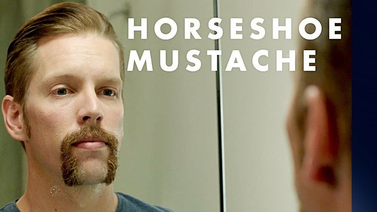 Mustache Styles: How to Shave a Horseshoe Mustache | Gillette (+playlist)