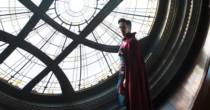 Avengers 3 Set Photo Returns to Sanctum Sanctorum -- Doctor Strange director Scott Derrickson was spotted in the Sanctum Sanctorum set in a new photo from Avengers: Infinity War. -- http://movieweb.com/avengers-infinity-war-set-photo-doctor-strange-sanctum-sanctorum/