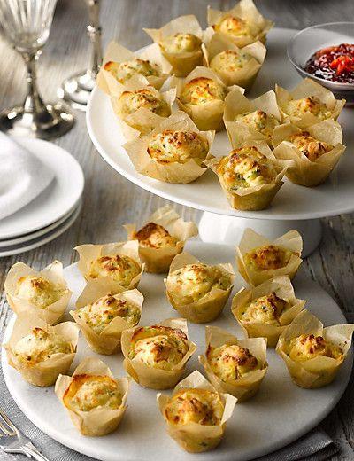24 Cheese & Onion Mini Muffins £10
