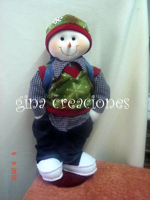 Eu Amo Artesanato: Boneco de Neve e Biscoitinha em feltro