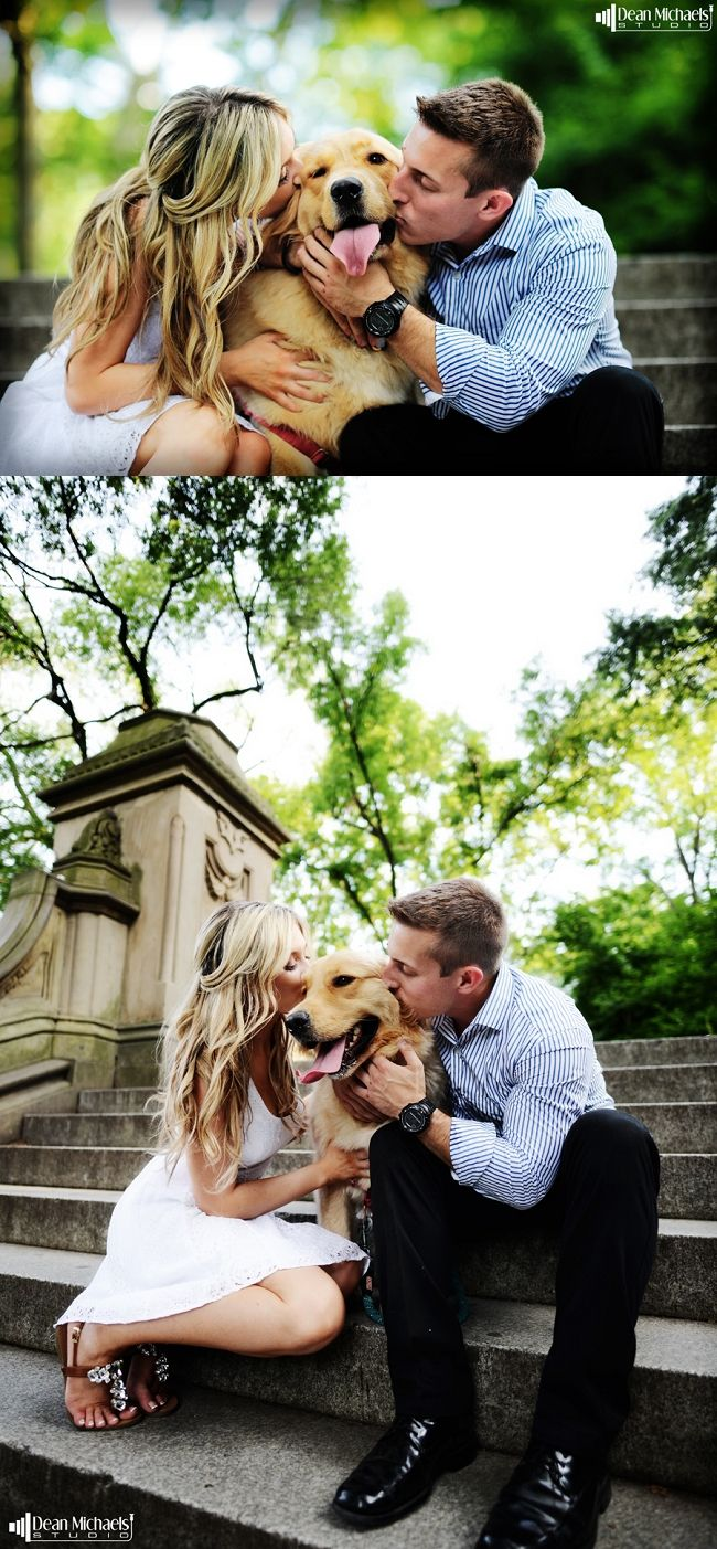 central park engagement shoot with dogs - Google Search …                                                                                                                                                     More