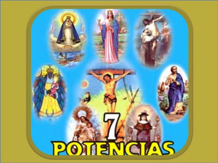 Abro mis puertas, con el fin y la buena fe,   a los siete espíritus de la fortuna,   a las poderosas y santas siete Potencias.  ...