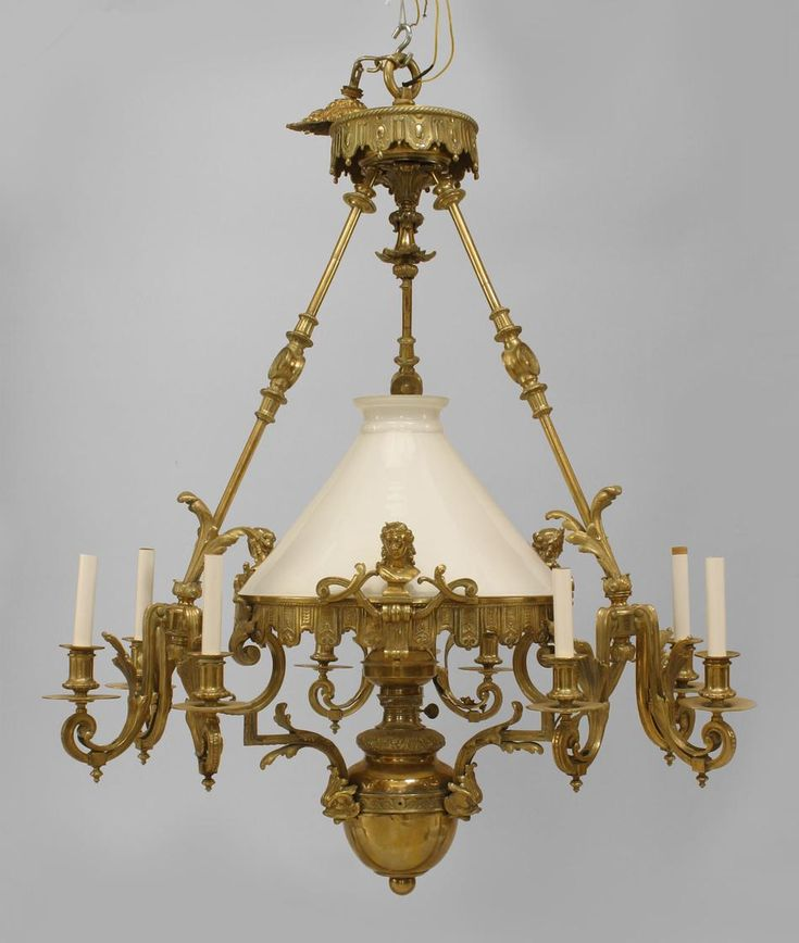 French Victorian lighting chandelier bronze - 260 Best Chandelier Moments Images On Pinterest Chandeliers